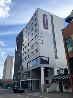 Premier Inn Hotel, Church Street West, Woking