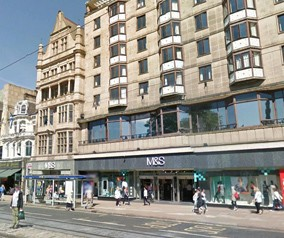 Marks & Spencer – 60 Princes Street, Edinburgh